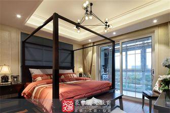 100平米三美式风格卧室效果图