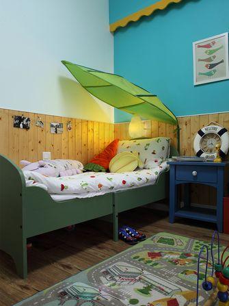 120平米三地中海风格儿童房图片大全