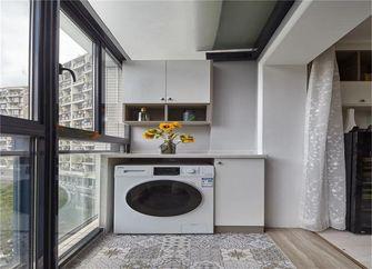80平米公寓北欧风格阳台效果图