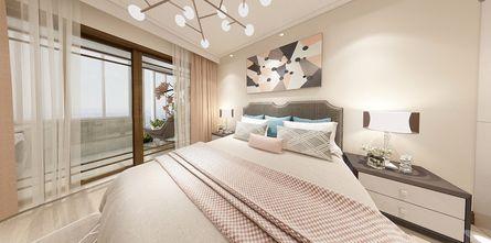 10-15万70平米公寓现代简约风格卧室装修图片大全