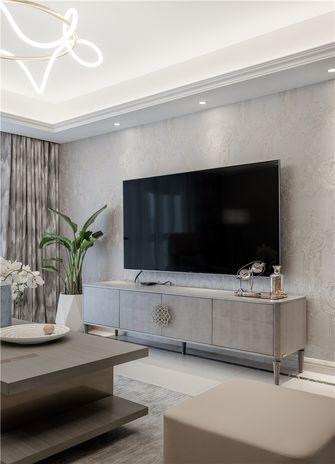 100平米三室一厅美式风格客厅装修图片大全