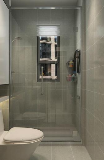 120平米三室一厅混搭风格卫生间图片
