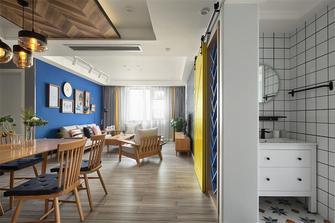 110平米三室两厅北欧风格走廊图片大全