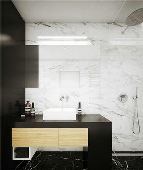 經濟型140平米四室一廳現代簡約風格衛生間圖