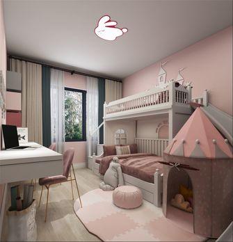 130平米四室两厅现代简约风格儿童房图