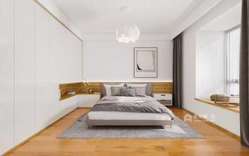 140平米三日式风格卧室装修图片大全