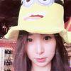 [术后125天] 出来玩啦!在一个小店里看到了我喜欢的小黄人必须要拍个照!这个帽子简直太可爱了,果断拿下!
