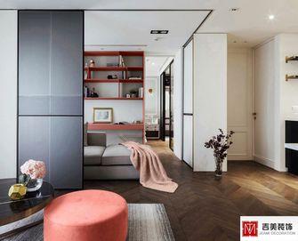 100平米一室三厅现代简约风格客厅图片大全