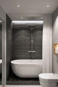 50平米一居室北欧风格卫生间装修效果图
