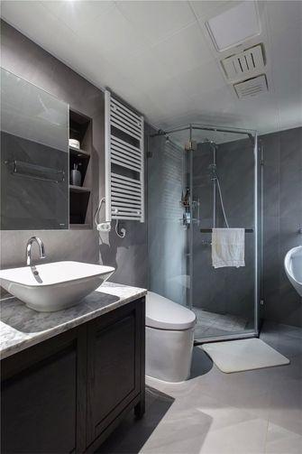 140平米三室两厅新古典风格卫生间图片