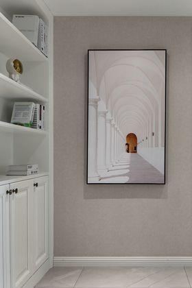 100平米三室兩廳現代簡約風格書房圖片