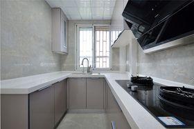 80平米三室两厅田园风格厨房装修图片大全