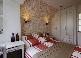 60平米一室两厅田园风格卧室欣赏图