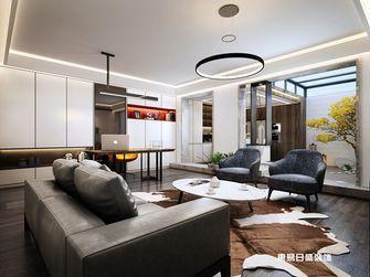 140平米四室两厅现代简约风格阁楼设计图