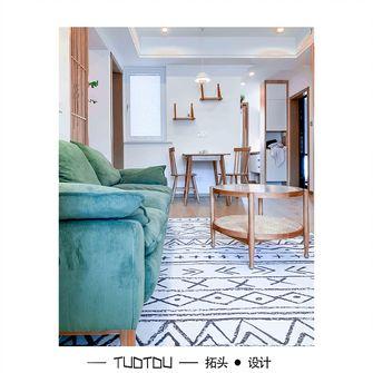 20万以上70平米日式风格客厅欣赏图