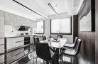 130平米三室一厅现代简约风格餐厅装修案例