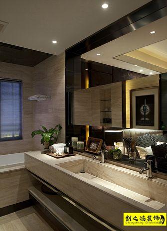 140平米三室一厅现代简约风格卫生间装修图片大全