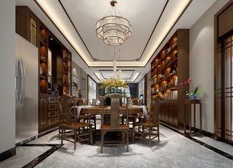 140平米四室三厅中式风格餐厅欣赏图