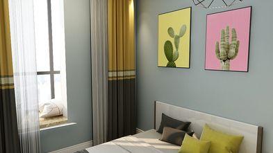 70平米北欧风格卧室图