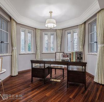 140平米三室两厅田园风格书房装修图片大全