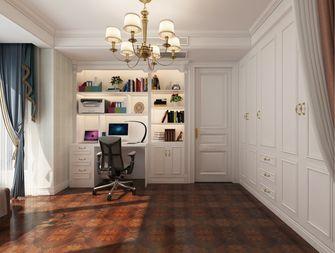 140平米三室两厅欧式风格书房图片大全