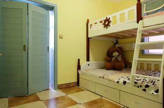 90平米三室两厅地中海风格儿童房设计图