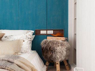 80平米三室一厅田园风格卧室装修图片大全