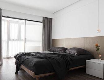 80平米混搭风格卧室欣赏图