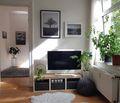 100平米公寓田园风格客厅欣赏图