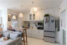 70平米公寓现代简约风格厨房橱柜图片
