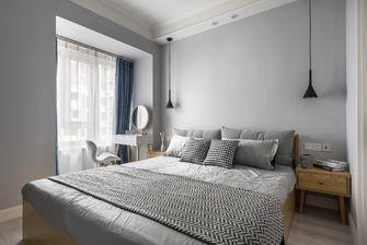100平米三室一厅北欧风格卧室图片