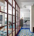 60平米一居室宜家风格走廊设计图