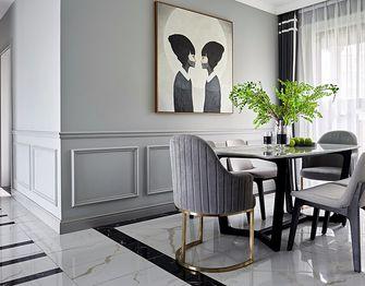 140平米四室一厅法式风格餐厅欣赏图