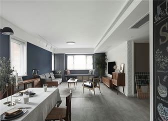 140平米四室三厅北欧风格客厅设计图