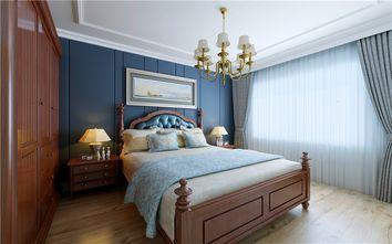 100平米美式风格卧室图