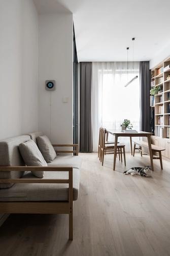 60平米一居室日式风格客厅装修效果图