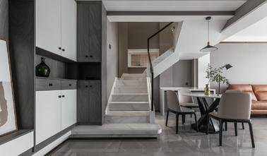 130平米四现代简约风格楼梯间装修效果图