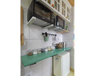 100平米三室一厅田园风格厨房设计图