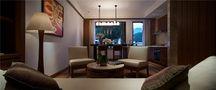 70平米公寓中式风格客厅装修案例