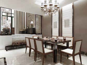 富裕型140平米三混搭风格餐厅装修案例