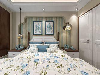 140平米四室两厅田园风格卧室设计图
