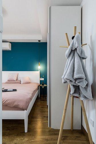 80平米三室两厅北欧风格卧室图片大全