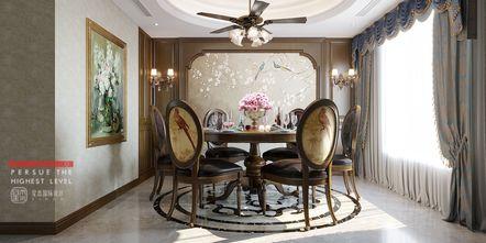 140平米四室四厅欧式风格餐厅设计图
