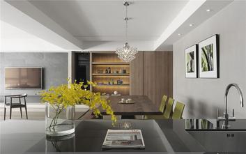 140平米三室两厅北欧风格餐厅图片