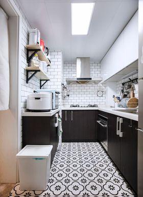 90平米三北歐風格廚房圖片