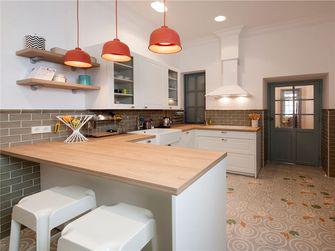 70平米田园风格厨房装修案例