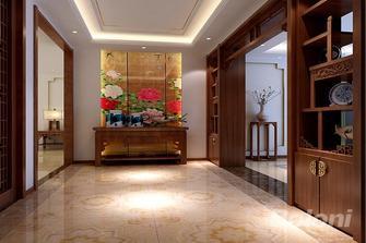 120平米三室两厅中式风格玄关图片大全