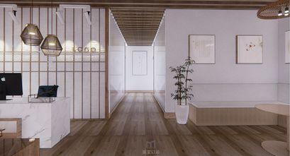 110平米三室两厅日式风格走廊设计图