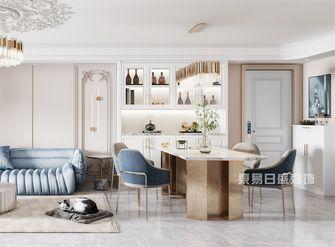 100平米三法式风格客厅设计图