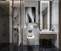 140平米三室一厅中式风格卫生间装修效果图